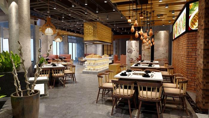 景区私家菜馆装修设计